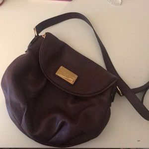 Marc Jacobs maroon cross body bag